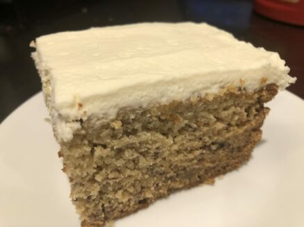 Deliciously Moist Banana Cake Recipe, Manayunk Chambers Guest House